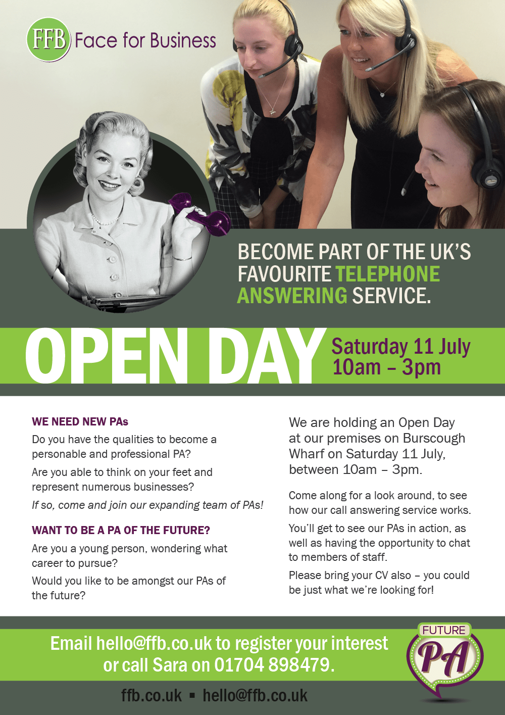 FFB openday