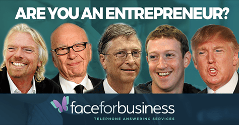 are you an entrepreneur Face for Business