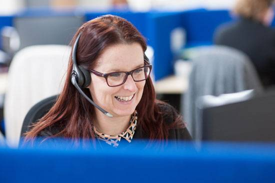 Telephone Answering Service receptionist Face for Business